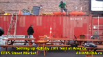 1 Setting up 40ft Tent at Area 62 for DTES Street Market on Sept 18 2015 (44)