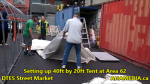 1 Setting up 40ft Tent at Area 62 for DTES Street Market on Sept 18 2015 (49)