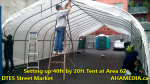 1 Setting up 40ft Tent at Area 62 for DTES Street Market on Sept 18 2015 (60)