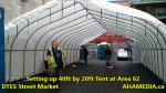 1 Setting up 40ft Tent at Area 62 for DTES Street Market on Sept 18 2015 (65)