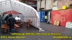 1 Setting up 40ft Tent at Area 62 for DTES Street Market on Sept 18 2015 (70)