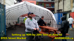 1 Setting up 40ft Tent at Area 62 for DTES Street Market on Sept 18 2015 (72)