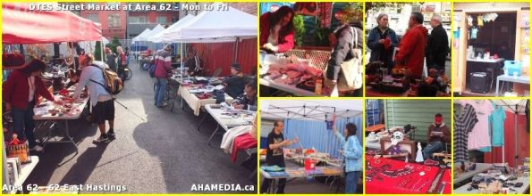 0 1 AHA MEDIA at Area 62 DTES Street Market in Vancouver on Oct 20 2015