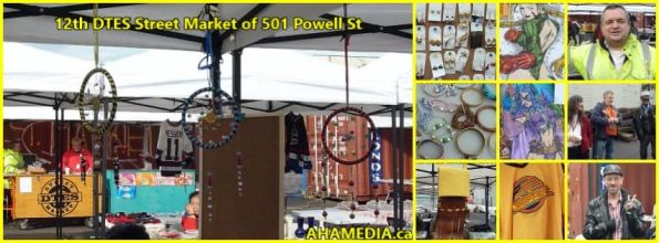 0 12th DTES Street Market at 501 Powell St in Vancouver on Oct 17 2015