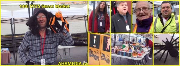 0 AHA MEDIA at 14th DTES Street Market in Vancouver on Oct 31 2015