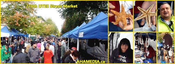 0 AHA MEDIA at 279th DTES Street Market in Vancouver on Oct 11, 2015