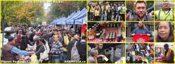 00 AHA MEDIA at 280th DTES Street Market in Vancouver on Oct 18, 2015
