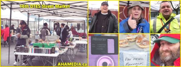 0  AHA MEDIA at 16th DTES Street Market at 501 Powell St in Vancouver on Nov 14 2015