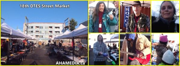 0  AHA MEDIA at 18th DTES Street Market at 501 Powell St in Vancouver on Nov 28 2015