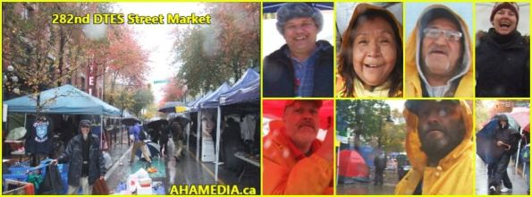 0 AHA MEDIA at 282nd DTES Street Market in Vancouver on Nov 1, 2015