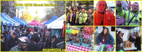 0 AHA MEDIA at 284th DTES Street Market in Vancouver on Nov 15 2015