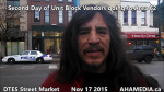 1 AHA MEDIA sees Second Day of Unit Block Vendors going to Area 62 DTES Street Market on Nov 17 2015 in Vancouver (1)