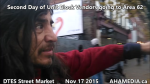 1 AHA MEDIA sees Second Day of Unit Block Vendors going to Area 62 DTES Street Market on Nov 17 2015 in Vancouver (10)