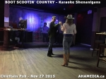 3 AHA MEDIA at BOOT SCOOTIN' COUNTRY PARTY at Chieftain Pub on Nov 27 2015