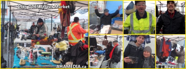 0 AHA MEDIA at 19th DTES Street Market at 501 Powell St in Vancouver on Dec 5 2015
