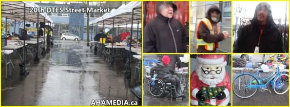 0 AHA MEDIA at 20th DTES Street Market at 501 Powell St in Vancouver on Dec 12 2015