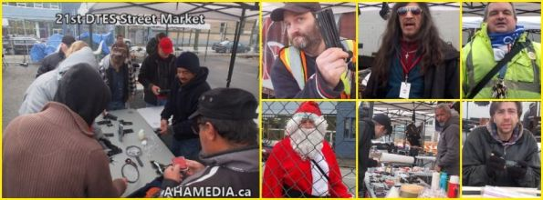 0 AHA MEDIA at 21st DTES Street Market at 501 Powell St in Vancouver on Dec 19 2015