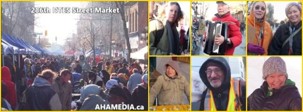 0 AHA MEDIA at 286th DTES Street Market in Vancouver on Nov 29 2015