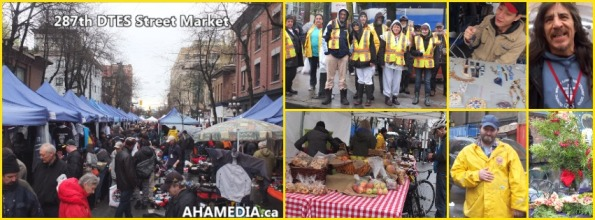 0 AHA MEDIA at 287th DTES St Market in Vancouver on Dec 6 2015