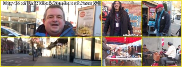 0 AHA MEDIA at 45th Day of Unit Block Vendors going to Area 62 DTES Street Market in Vancouver on Dec 30 2015