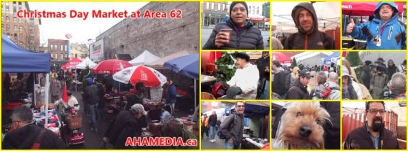 0 AHA MEDIA at Christmas Day 2015 at DTES Street Market Area 62 in Vancouver on Dec 25 2015