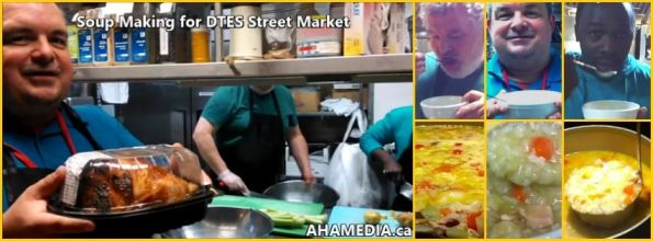 0 AHA MEDIA at Soup Making for DTES Street Market on Dec 4 2015