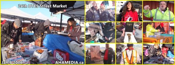 0 AHA MEDIA at 24th DTES Street Market at 501 Powell St in Vancouver on Jan 9 2016