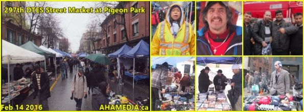 0 AHA MEDIA at 297th DTES Street Market in Vancouver on Feb 14 2016