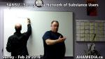 1 AHA MEDIA at  SANSU - Surrey Area Network of Substance Users meeting on Feb 29 2016 (1)