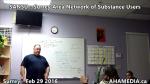 1 AHA MEDIA at  SANSU - Surrey Area Network of Substance Users meeting on Feb 29 2016 (16)