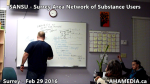 1 AHA MEDIA at  SANSU - Surrey Area Network of Substance Users meeting on Feb 29 2016 (20)