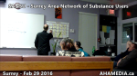 1 AHA MEDIA at  SANSU - Surrey Area Network of Substance Users meeting on Feb 29 2016 (28)