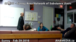 1 AHA MEDIA at  SANSU - Surrey Area Network of Substance Users meeting on Feb 29 2016 (29)