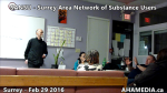 1 AHA MEDIA at  SANSU - Surrey Area Network of Substance Users meeting on Feb 29 2016 (32)