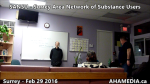 1 AHA MEDIA at  SANSU - Surrey Area Network of Substance Users meeting on Feb 29 2016 (35)