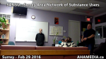 1 AHA MEDIA at  SANSU - Surrey Area Network of Substance Users meeting on Feb 29 2016 (36)