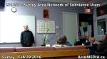 1 AHA MEDIA at  SANSU - Surrey Area Network of Substance Users meeting on Feb 29 2016 (39)
