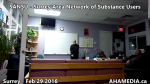 1 AHA MEDIA at  SANSU - Surrey Area Network of Substance Users meeting on Feb 29 2016 (7)