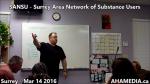 1 AHA MEDIA at SANSU Surrey Area Network of Substance Users meeting on Mar 14 2016 (7)