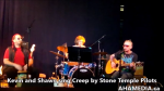 AHA MEDIA sees Kevin and Shawn sing Creep by Stone TemplePilots