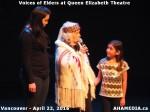 21 AHA MEDIA at Voices of Elders in Queen Elizabeth Theatre, Vancouver on April 22 2016