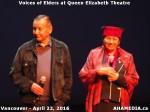 29 AHA MEDIA at Voices of Elders in Queen Elizabeth Theatre, Vancouver on April 22 2016