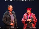 30 AHA MEDIA at Voices of Elders in Queen Elizabeth Theatre, Vancouver on April 22 2016