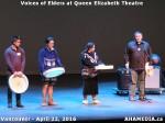 36 AHA MEDIA at Voices of Elders in Queen Elizabeth Theatre, Vancouver on April 22 2016