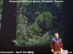 38 AHA MEDIA at Voices of Elders in Queen Elizabeth Theatre, Vancouver on April 22 2016