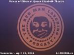 52 AHA MEDIA at Voices of Elders in Queen Elizabeth Theatre, Vancouver on April 22 2016