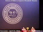 53 AHA MEDIA at Voices of Elders in Queen Elizabeth Theatre, Vancouver on April 22 2016
