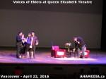 58 AHA MEDIA at Voices of Elders in Queen Elizabeth Theatre, Vancouver on April 22 2016
