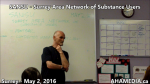 AHA MEDIA at SANSU Surrey Area Network of Substance Users meeting on May 2 2016 (29)