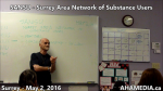 AHA MEDIA at SANSU Surrey Area Network of Substance Users meeting on May 2 2016 (30)